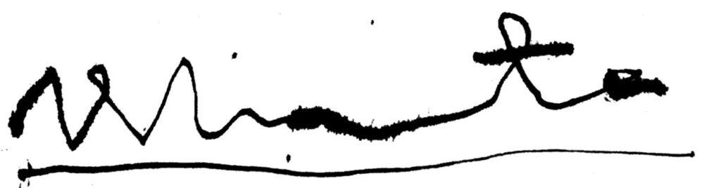 Ela Wiatr signature